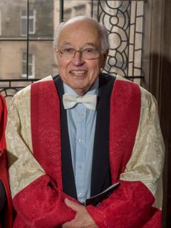 Sir Michael Atiyah (Photograph by Douglas Robertson.)