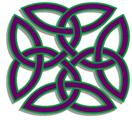 School of Maths Knot Logo