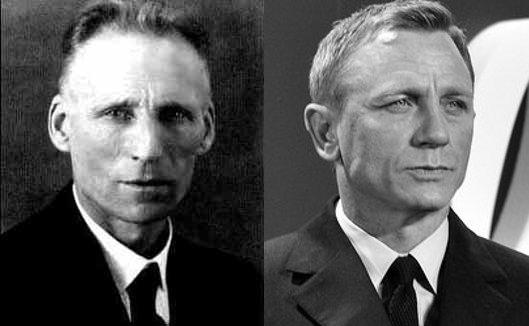 L.E.J. Brouwer and Daniel Craig