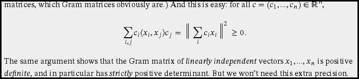 displayed formula