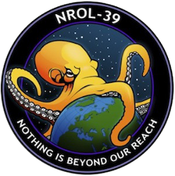 Logo of US spy satellite NROL-39