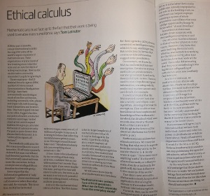 Thumbnail of New Scientist article