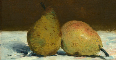 Pears by Edouard Manet